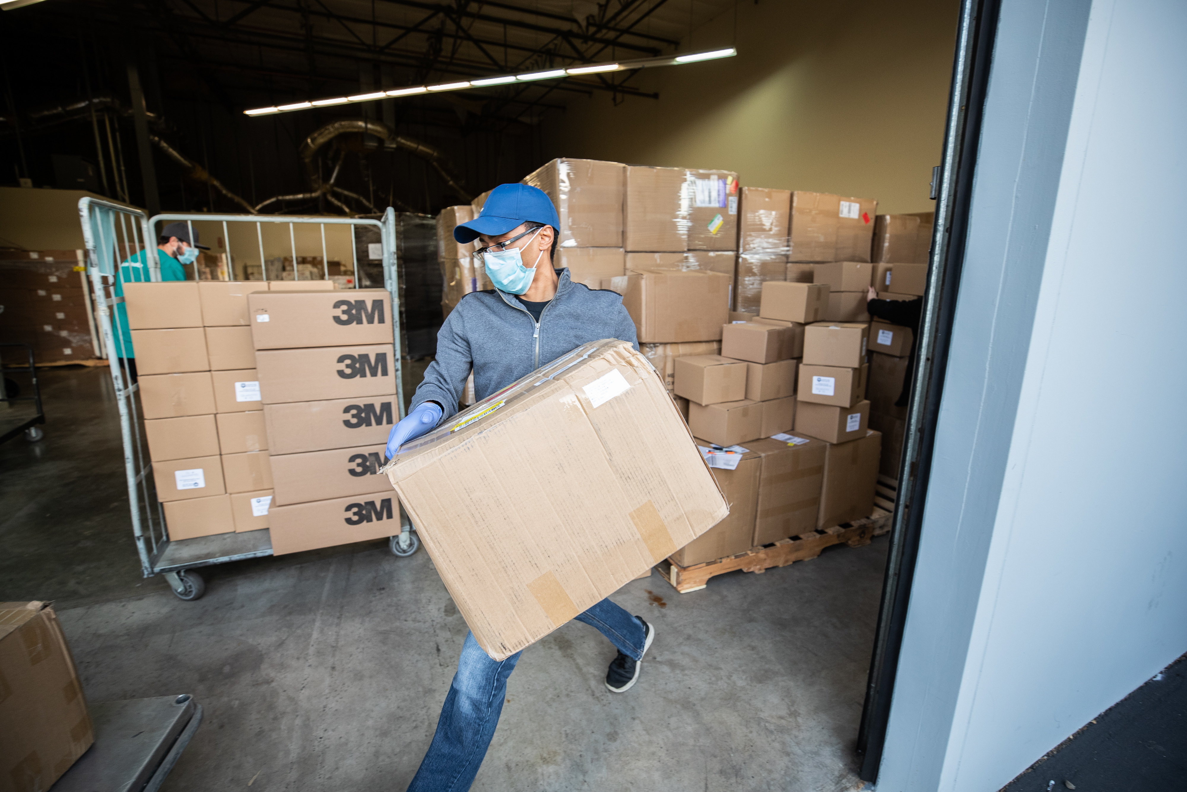 Supply Chain Warehouse PPE and Supply Delivery