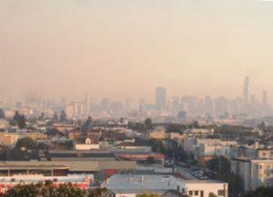 Photo of San Francisco with heavy smoke