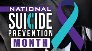 Suicide Prevention Awareness Month Image