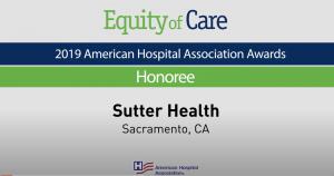 2019 American Hospital Association Awards