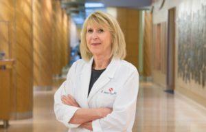 Doctor in hallway