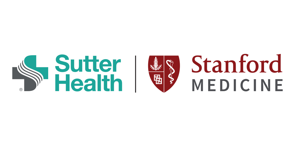 Sutter Health and Stanford Medicine logos