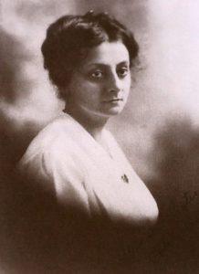 Portrait of Alta Alice Miner Bates
