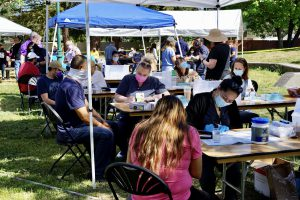 Sutter Health and Raizes Collective partner to help vaccinate Santa Rosa's Latino community at a pop up clinic