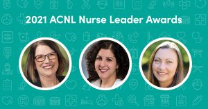 Trio of Nurse leader portraits