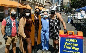Vaccinations in LGBQT+ in SF