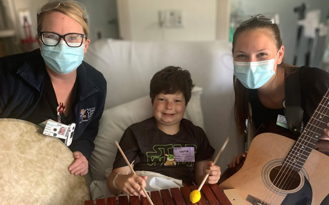 Peds Patient Jams Out During Chemo