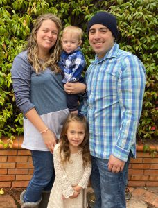 Cancer patient and family