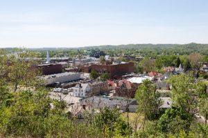Parkersburg West Virginia stock photo